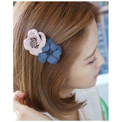 Miss21 Korea - Dual-Corsage Hair Clip
