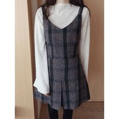 maybe-baby - Bell-Sleeve Wool Top