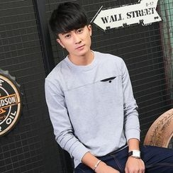 Walwa - Collared Sweatshirt