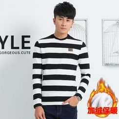 Walwa - Long-Sleeve Striped T-Shirt