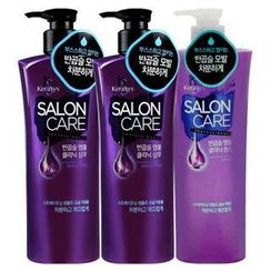 Kerasys - Salon Care Natural Curl Ample Clinic Set: Shampoo 470ml + Shampoo 470ml + Rinse 470ml