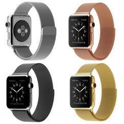 Papilio - Apple Watch不鏽鋼錶帶