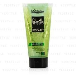 L'Oreal - Professionnel Dual Stylers by Tecni.Art Liss and Pump-Up (Volume 2)