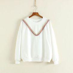 三木社 - 流苏边套衫
