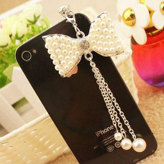 Fit-to-Kill - Ribbon Pearl Mobile Earphone Plug