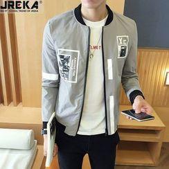 Jacka - Printed Zip Jacket