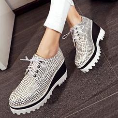 錦洋鞋業 - 仿皮船跟牛津鞋