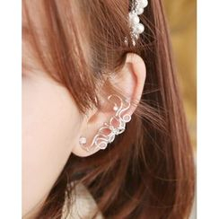 Miss21 Korea - Curly Ear Cuff (Single)