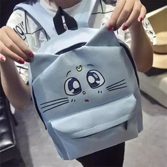 Rosanna Bags - Cat Canvas Backpack