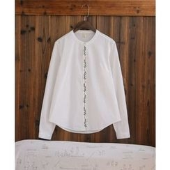 tete - Embroidered Blouse