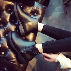 Hipsole - Buckled Ankle Boots
