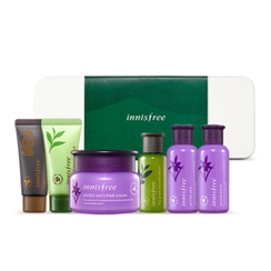 Innisfree - The Best Of Innisfree Orchid Collection: Orchid Cream 50ml + Skin 50ml + Lotion 50ml + Green Tea Seed Serum 30ml + Sleeping Pack 20ml + Super Volcanic Pore Mask 20ml
