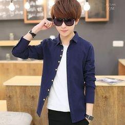 Breeson - Plain Long-Sleeve Shirt