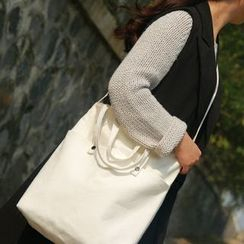 Ms Bean - Canvas Shoulder Bag
