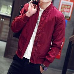 EVAMORE - Plain Zip Jacket
