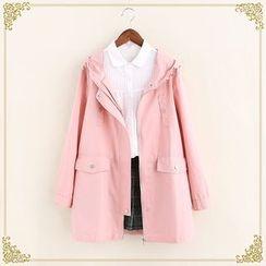 Fairyland - Hooded Long Jacket