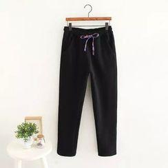 TOJI - Fleece-Lined Drawstring Pants