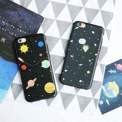 KANNITE - 銀河印花手機套 - iPhone 7 / 7 Plus / 6s / 6s Plus