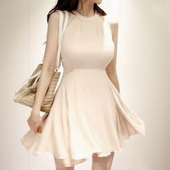 Marlangrouge - Halter A-Line Dress