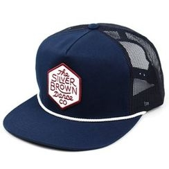 Ohkkage - Mesh-Panel Color-Block Cap