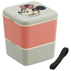 Skater - Minnie Mouse 2 Layer Square Lunch Box
