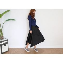 Hello sweety - Calf-Length Flared Skirt