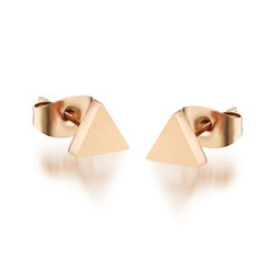Tenri - Triangle Earrings