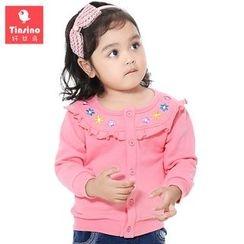 Tinsino - Baby Ruffle Trim Jacket