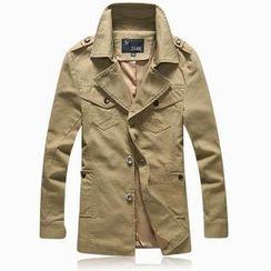 Bay Go Mall - Short Trench Coat