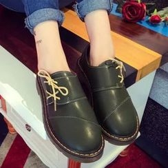 Limone - Faux Leather Oxfords