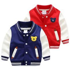 Seashells Kids - Kids Baseball Jacket
