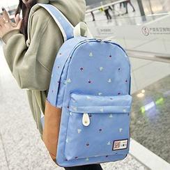 Top Seeka - Print Canvas Backpack