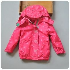 Rakkaus - Kids Printed Hooded Jacket