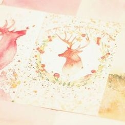 Homey House - Christmas Postcard Set (30 pcs)