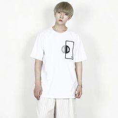 Rememberclick - Short-Sleeve Printed T-Shirt