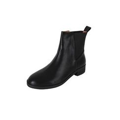DABAGIRL - Flat-Heel Chelsea Ankle Boots