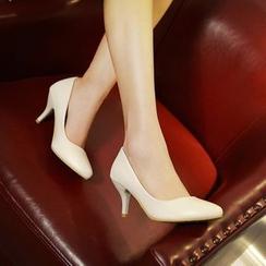 锦洋鞋业 - 尖头中跟鞋