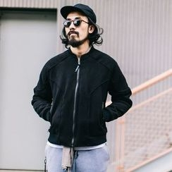 YIDESIMPLE - Padded Baseball Jacket