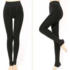 Crytelle - Fleece Lined Stirrup Leggings