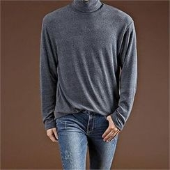 THE COVER - Turtle-Neck Long-Sleeve Top