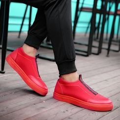 Preppy Boys - Canvas Slip-On Sneakers