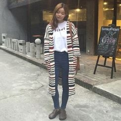 TriStyle - Striped Long Cardigan