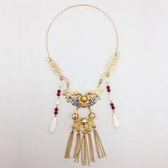 Neostar - Bridal Tasseled Necklace