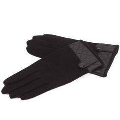 羚羊早安 - 拼接時尚手套
