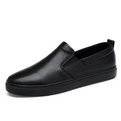MARTUCCI - Genuine Leather Slip-Ons / Sneakers