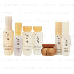 Sulwhasoo - Travel Kit: Foam + Serum + Water + Emulsion + Eye Cream + Cream + Finisher