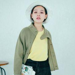 Hanayoshi - Stand-Collar Loose-Fit Jacket