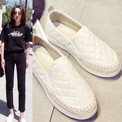 Sunsteps - Quilted Slip-Ons