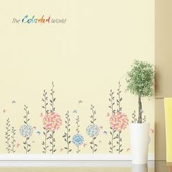 LESIGN - Leaf Wall Stickers