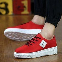BINSHOU - Smiley Platform Sneakers
